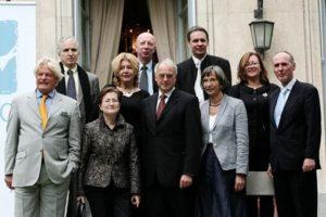 Miembros fundadores de EUNIC España en 2008 (Foto: Goethe-Institut Madrid/Fran Seco)