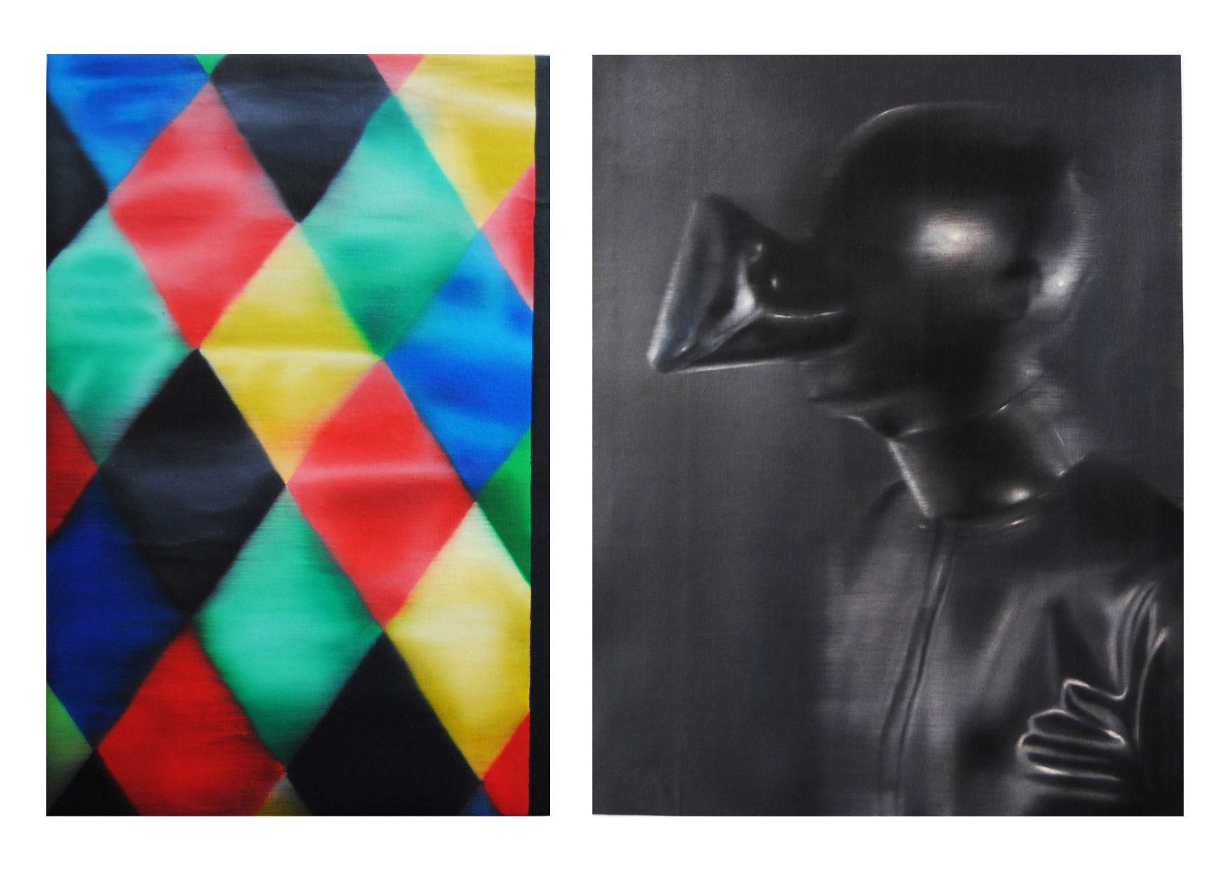 Homus sociologicus, óleo sobre tela, 61 x 40 cm