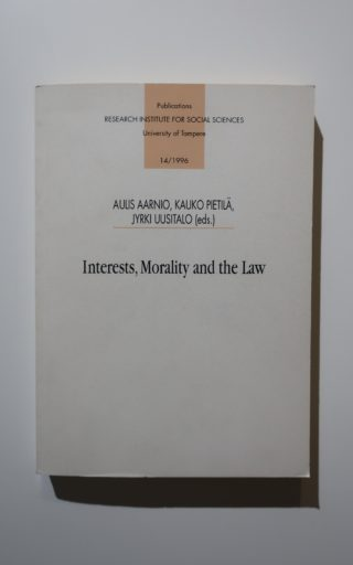 Interests, Morality and the Law 1 portada