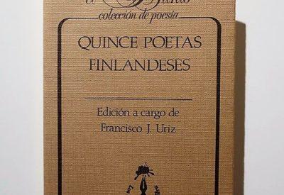 Quince poetas finlandeses portada