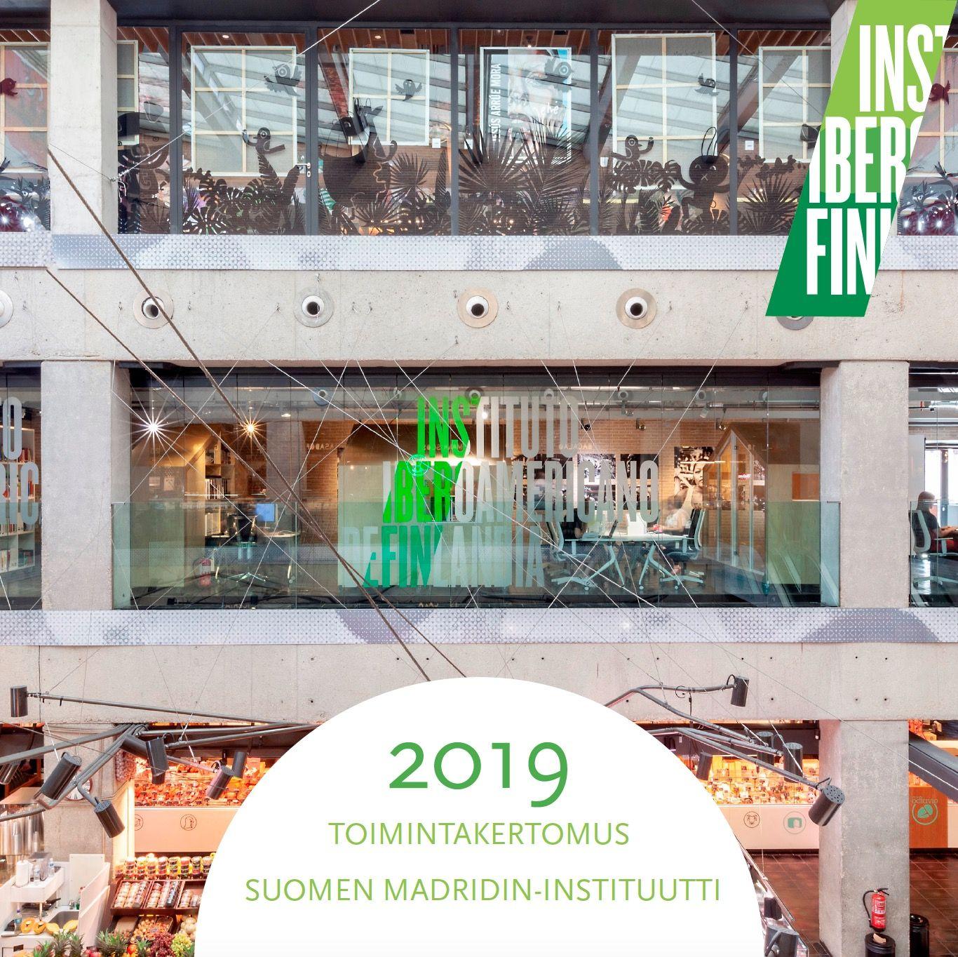 Relatório anual do Instituto