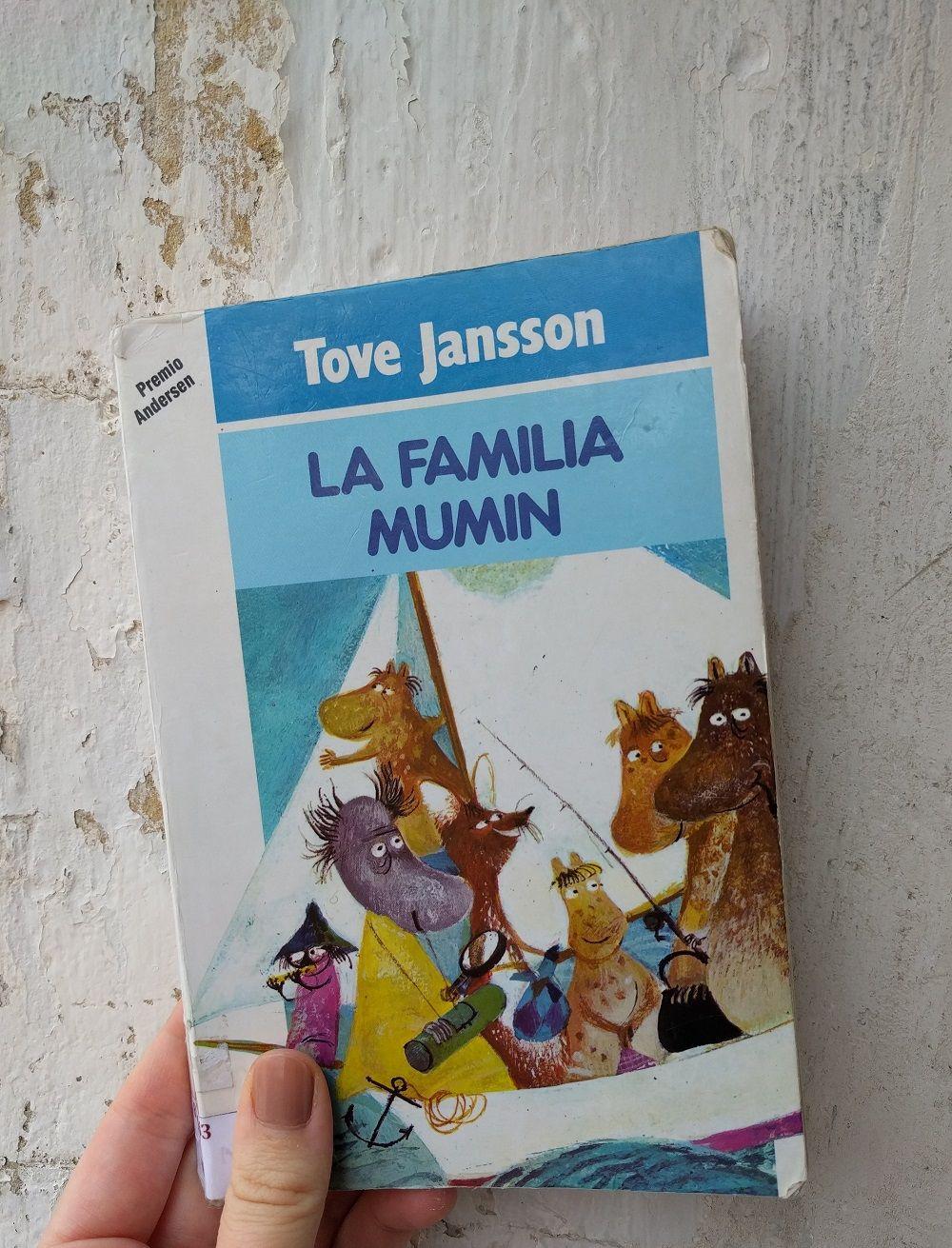 Libro la familia Mumin