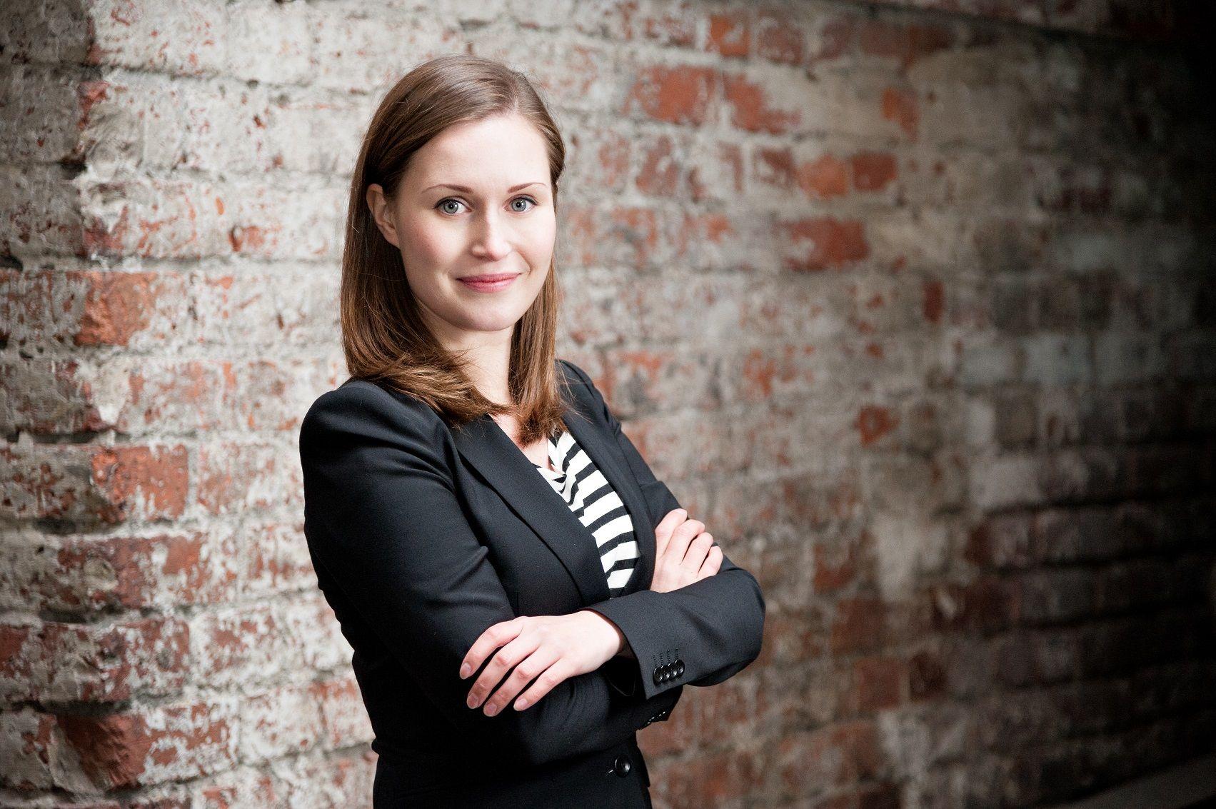 Sanna Marin primera ministro finlandesa