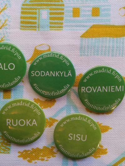 pin con palabras finlandesas