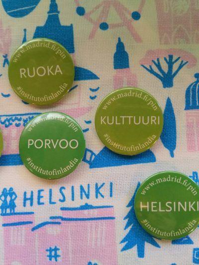 Pines con nombres en finés