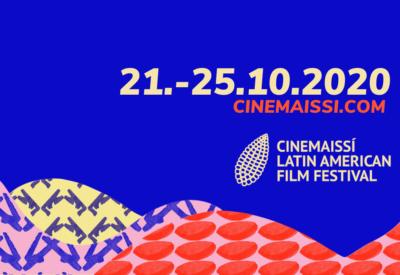 Banner azul de Cinemaissi