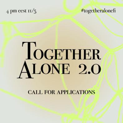 Logo Together Alone 2.0