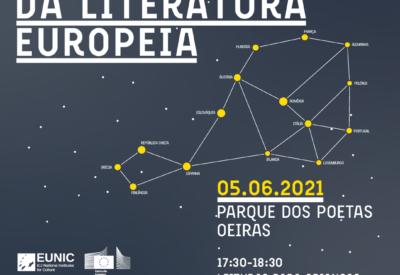 Cartel Noite da Literatura Europeia 2021