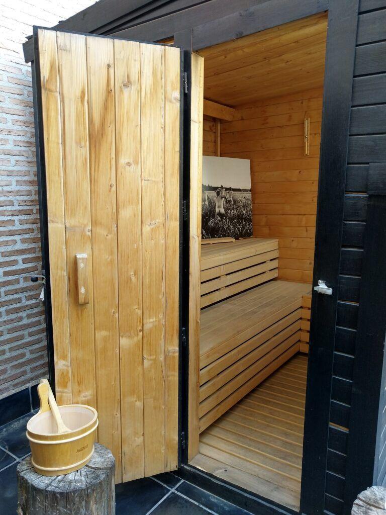 uma sauna