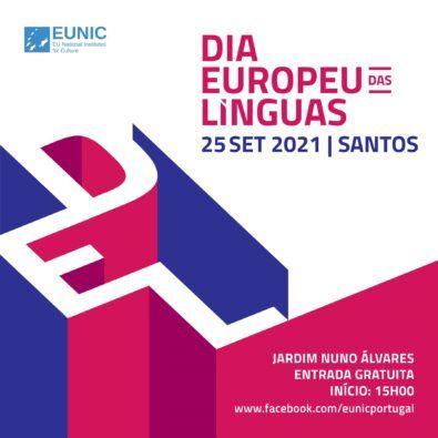 Cartaz Dia Europeu das linguas