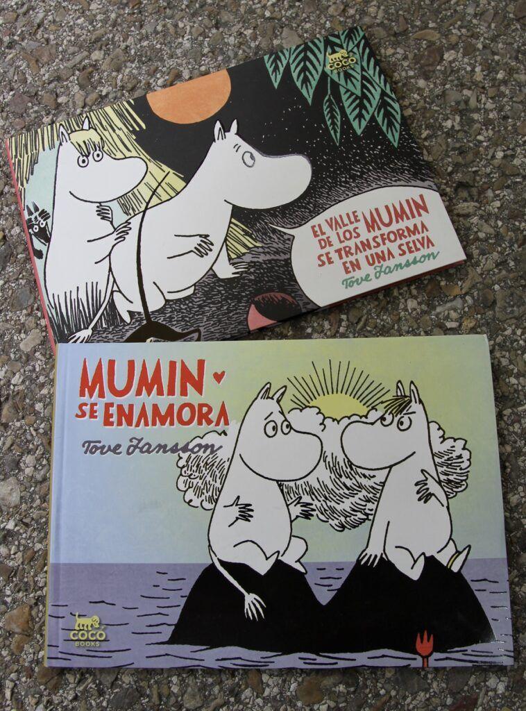 dos libros de los Mumin